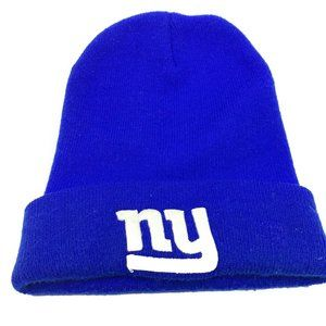 NFL New York Giants Stocking Hat One Size Blue